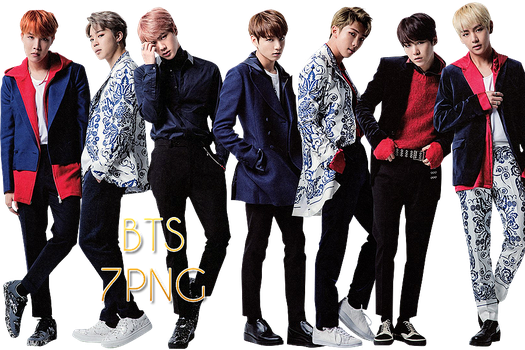 BTS PNG Pack {The Best Of BTS} by kamjong-kai