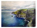 Cliffs of Moher by artistkitty88