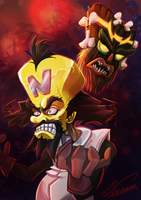 Daily Illustrashawns #7 - NEO CORTEX by ShawnnL