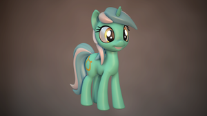 Lyra Heartstrings by AlligatorSkiesIX