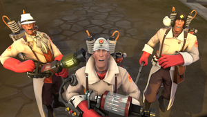 [SFM] 3 Medics in Rottenburg by LurioAsplund