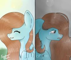 (Teal Luck) I'm Ok by Feathershock