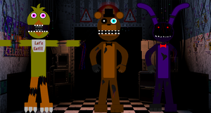 FNAF RP (Hello) by Painter85