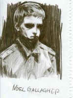 Noel Gallagher by hyper-uniQue