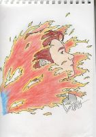 Chris Colfer - Fire by MarilynCollins