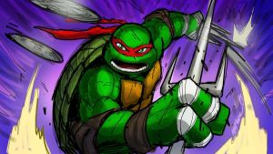 TMNT Raphael warm up sketch by MarceloMatere