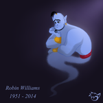 Robin Williams Tribute by PinselTheExperiment