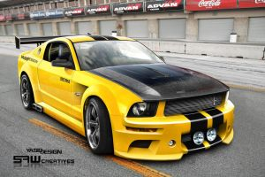 ford mustang RACE READY by yasiddesign