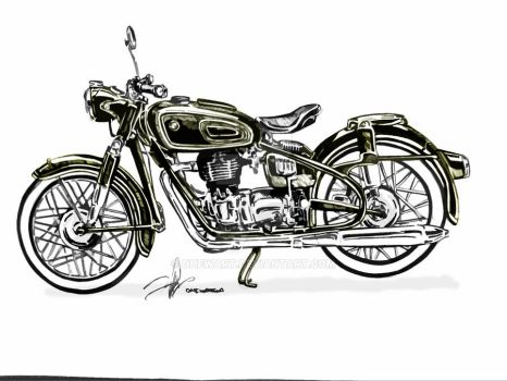 bmw Classic moto by DHEWART