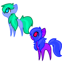 Chibi Earth Pony Adoptables by Adopts-Fancy