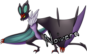 Day 3-Noivern by BlackMew13