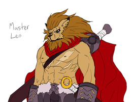 Master Leo Sketch by Midnitez-REMIX