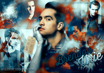 Wallpaper Brendon Urie by MyOldSecrets