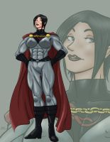 Sov SuperWoman AngelFallsRost by Sean-Loco-ODonnell