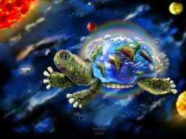 Mother of all turtles by Vereteno