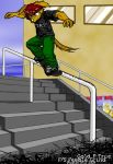 Gold P True F S feeble grind by stucat