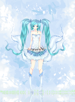 Miku Hatsune - Pianist on sky by RaidonSesshou