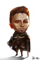 Dragon Age Alistair Chibi by We-Chibi