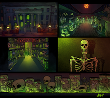 Backgrounds for documentary by Duivelsdraak
