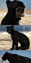 Stuffed Panther page1 by PWRof3D