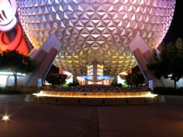 Epcot Spaceship Earth Stock 8 by AreteStock