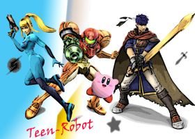 team teen robot - ssbb by Teen-Robot