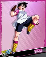 DBKai card #17 Videl by Bejitsu
