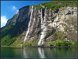 Norway - The Seven Sisters by AgiVega