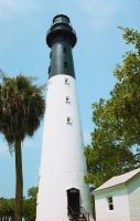 Hunting Island Lighthouse by mom-the-bomb