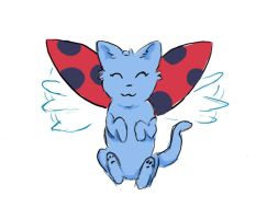 Catbug sketch by XsanaanX