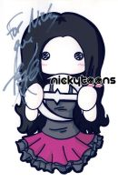 Evanescence: Amy Lee by NickyToons