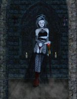 A Gothic Vision by Kaleya