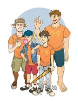P is for Percy Jackson by furious-teapot