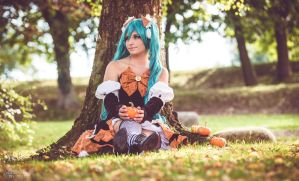 Vocaloid : Fall colours by Muralu