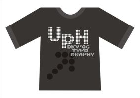UPH Typhography by kn33cow