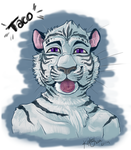 Taco tiger by StarShooterFrecklz