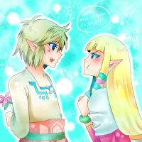 zelink  skyward sword by haru888