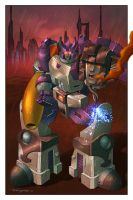 Galvatron Pinup by Teyowisonte