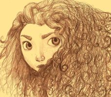 Merida by cartoonstranger
