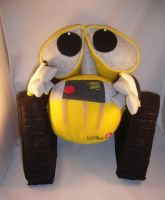 Life size Wall-E plush by pandari