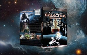 Battlestar Galactica 2 dvd by nuke-vizard