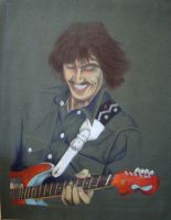 Old Doodles - George Harrison by DouggieDoo