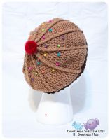 Chocolate Cupcake Hat 2 by moofestgirl