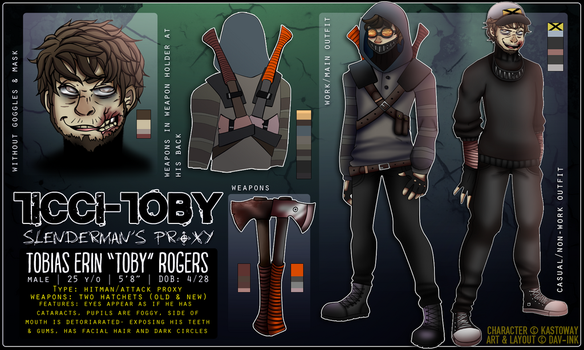 UPDATED. Ticci-Toby REFERENCE by Dav-Ink