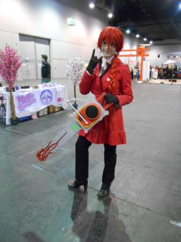 EpicCon Frankfurt 2016 cosplay: Grell 1 by Lalottered