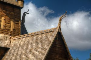 Dragonheads from early middleages by Eldharjar