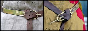 Reenactment belt by ArtisansdAzure