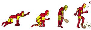 Iron Man Evolution by AwesomeNinjaDude