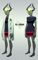 Character Design - Dr. Abek by axl99