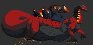 Forge Dragon by WhiteRuth